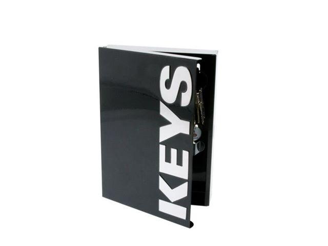 Skrinka na kľúče Keys čierna - Obrázok č. 1