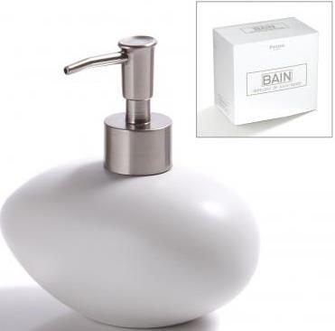Davkovač na mydlo Bain biely - Obrázok č. 1