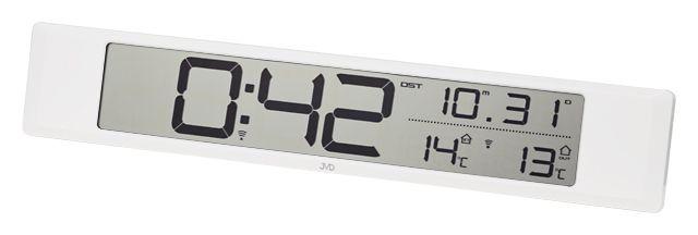 Rádiom riadené hodiny JVD RH281.1  45cm - Obrázok č. 1