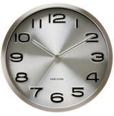 Nástenné hodiny Karlsson Maxie steel 4462 29cm,