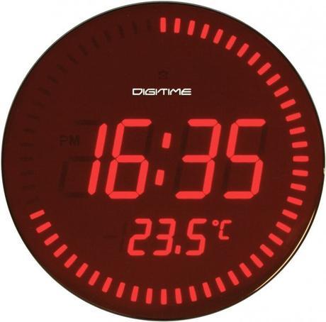 Twins hodiny LED 1090 28cm - Obrázok č. 1