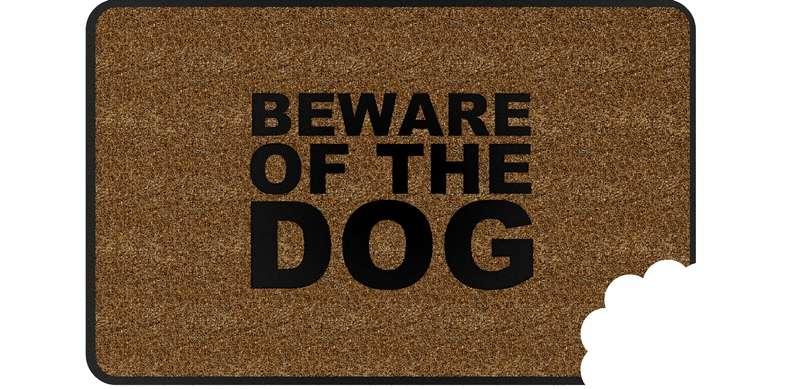 Rohožka BALVI Beware Of The Dog - Obrázok č. 1