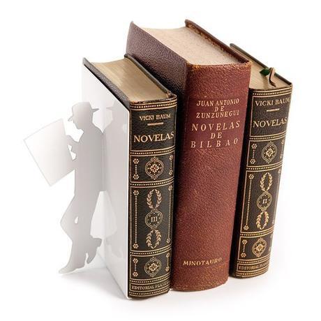 Zarážka na knihy The Reader biela - Obrázok č. 1