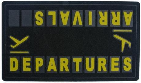 Rohožka Arrivals - Departures Balvi - Obrázok č. 1