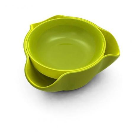 Double Dish - dvojitá miska, zelená 18cm - Obrázok č. 1