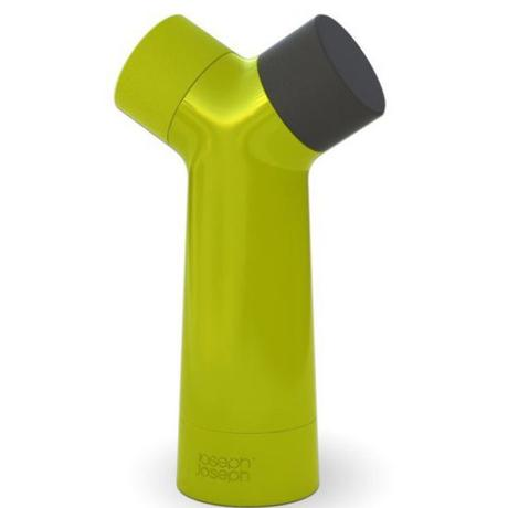 Dvojkomorový mlynček na korenie a soľ JOSEPH zelen - Obrázok č. 1