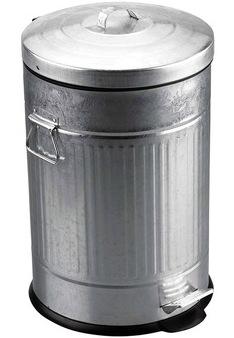 Odpadkový kôš Retro 20L pozinkovaný  - Obrázok č. 1