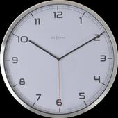 Nástenné hodiny 3080wi Nextime Company number 35cm,