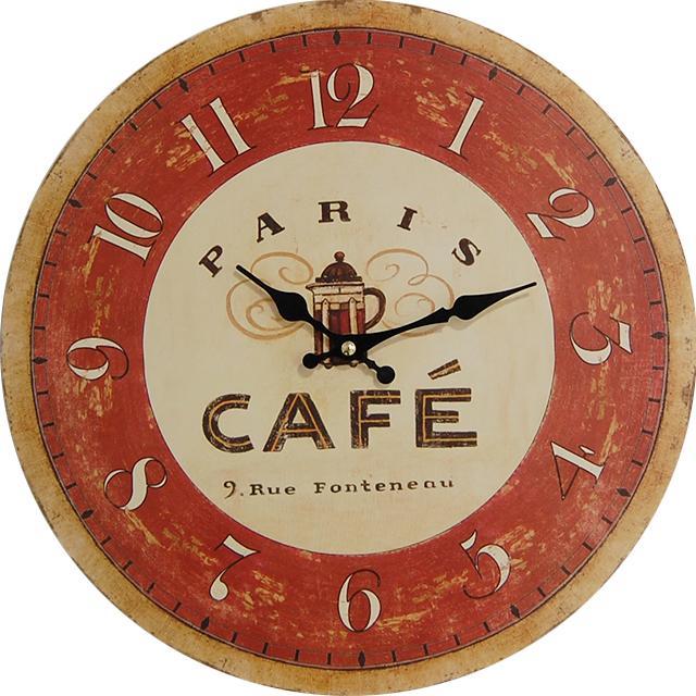 Nástenné hodiny hl Paris Café 2 34cm - Obrázok č. 1