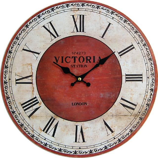Nástenné hodiny hl Station London 34cm - Obrázok č. 1
