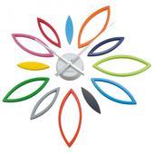 Nástenné hodiny DIY Leaves Flower ka5200mc Karlsso,