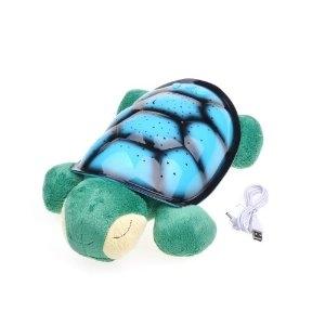 Nočná korytnačka modrá + usb - Obrázok č. 1