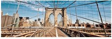 Obraz na plátne 45x140cm BROOKLYN BRIDGE,