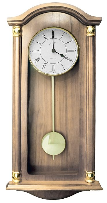 Drevené nástenné hodiny ASSO A19/346/11, 59cm - Obrázok č. 1