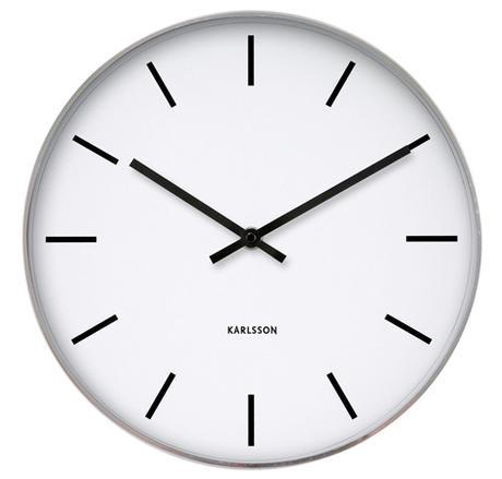 Nástenné hodiny 4379 Karlsson 38cm - Obrázok č. 1