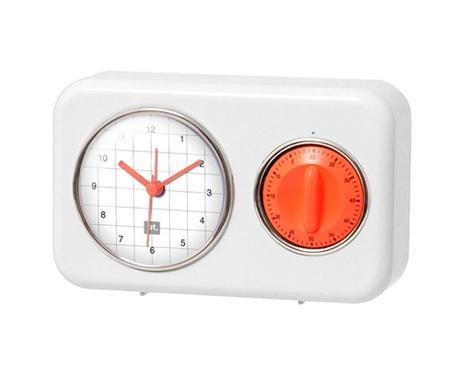 Kuchynské hodiny s časovačom Nostalgia, WH 17cm - Obrázok č. 1