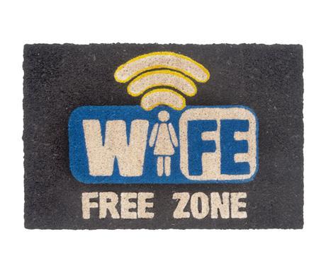 Rohožka WIFE free zóna 60x40cm - Obrázok č. 1