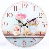 Nástenné hodiny HLC, Vase, 34cm,