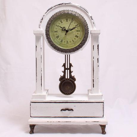 Stolové hodiny drevené Antik, 47cm - Obrázok č. 1