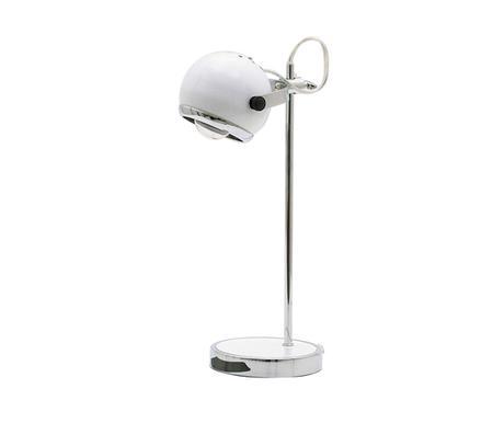 Stolná lampa Retro Mini biela 35cm - Obrázok č. 1