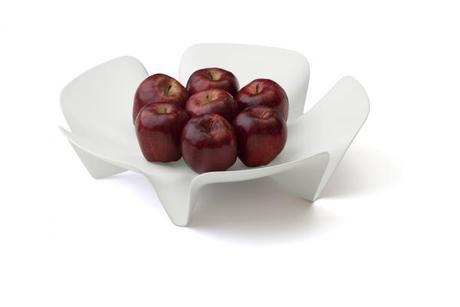 Misa na ovocie Qualy Flower Fruit Tray, veľká, bie - Obrázok č. 1