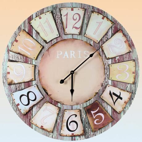 Nástenné hodiny Paris, 60cm - Obrázok č. 1