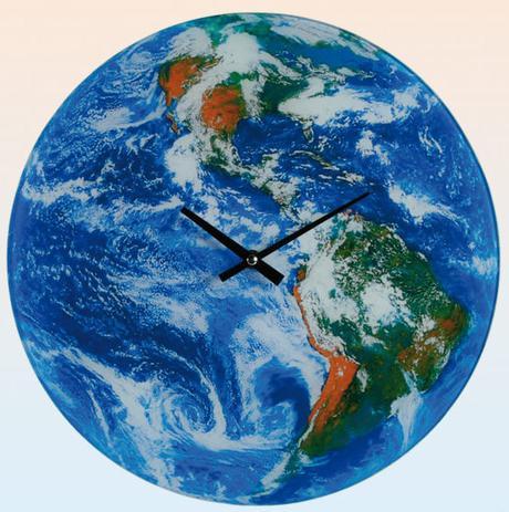 Nástenné hodiny Zemeguľa, 35cm - Obrázok č. 1