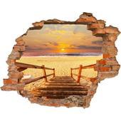3D fototapeta, Schody na pláž, 125 x100cm,