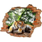 3D fototapeta, Tiger, 125 x100cm,