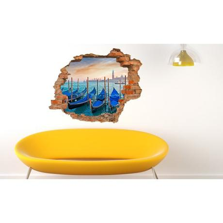 3D fototapeta, Benátky, 125 x100cm - Obrázok č. 1