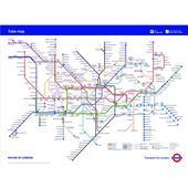 Fototapeta, Metro Mapa, 315 x232cm,
