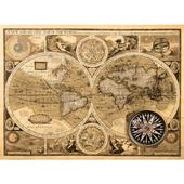 Fototapeta, Mapa, 315 x232cm,