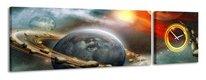 Obraz na plátne Panoráma, Vesmír, 158x46cm,