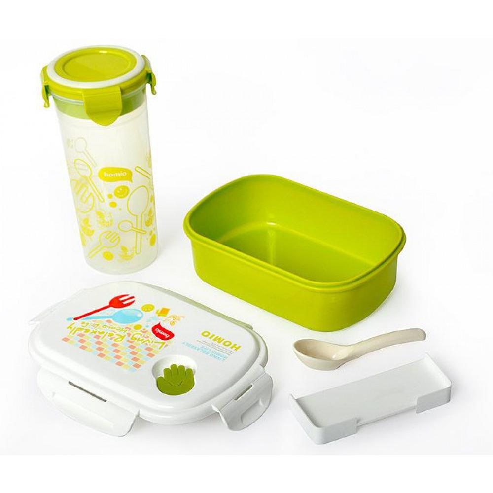 Box na jedlo + pohár na vodu, sada Promis - Obrázok č. 1