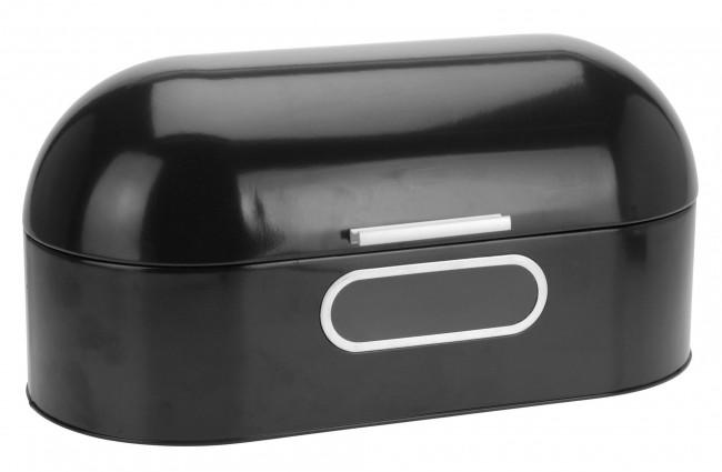 """Chlebník s okienkom """"black"""" Retro dizajn - Obrázok č. 1"""