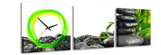 3 dielne obrazové hodiny Zen, 35x105cm,