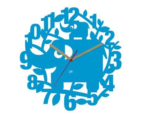 Detské nástenné hodiny Slon Ellie, 34cm - Obrázok č. 1