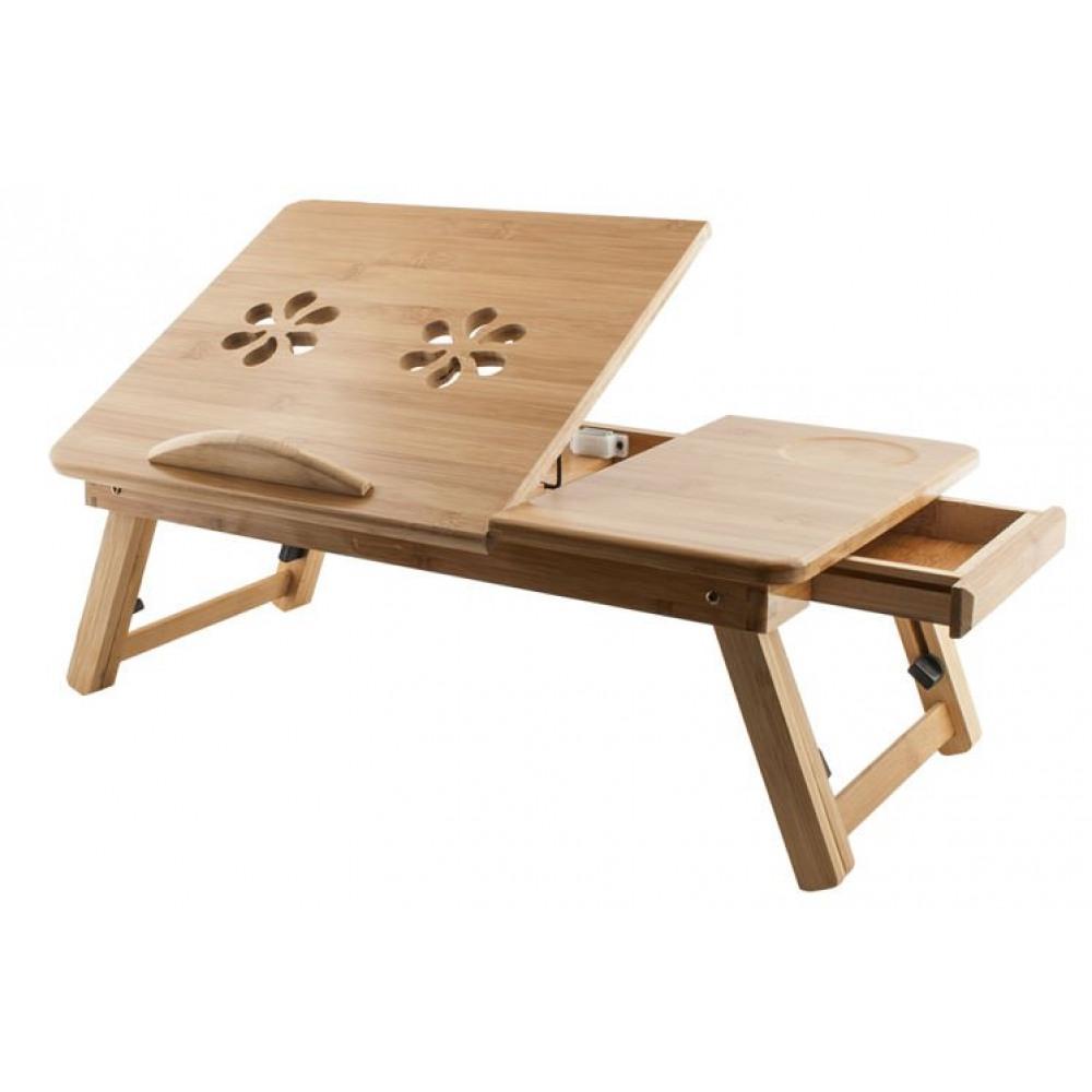 Stolík na notebook do postele Bamboo, Isot0515 - Obrázok č. 1