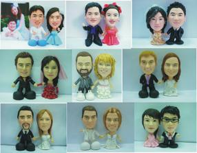 supr!!! podle fotky vám udělají postavičky vás dvou na dortík:-) cena:100-200dolarů!