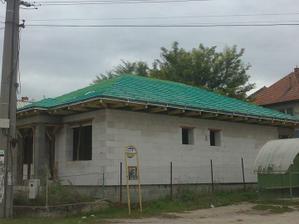 Zalatovaná strecha, a hor sa! na ukladanie krytiny:-)