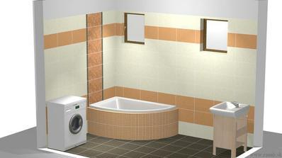 Už máme doma aj obklad do kúpeľne + samostatné WC. Objednávali sme s TRNAVY Rasub.sk, Cersanit - Lyrika