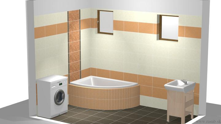 Bungalov 667 krok za krokom - Už máme doma aj obklad do kúpeľne + samostatné WC. Objednávali sme s TRNAVY Rasub.sk, Cersanit - Lyrika
