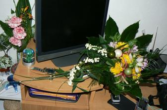 ukázka práce jedné velmi velmi šikovné paní, kteoru asi určitě poprosím o zhotovení svatební kytky