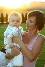 moja sestra a moj synovček