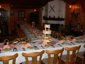 Nazdobení stolů I.