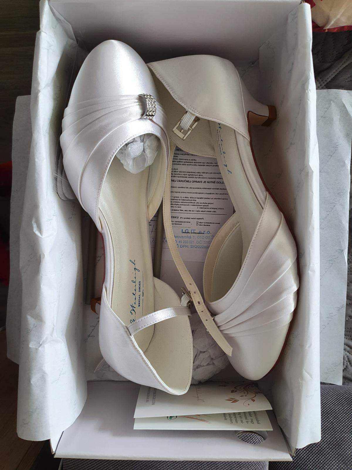 Svadobné topánky G Westerleigh - Obrázok č. 1
