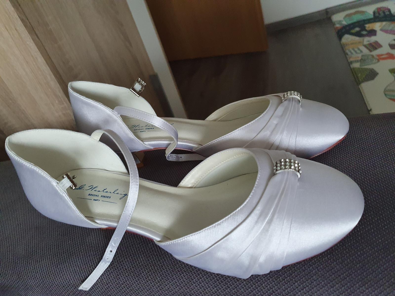 Svadobné topánky G Westerleigh - Obrázok č. 4