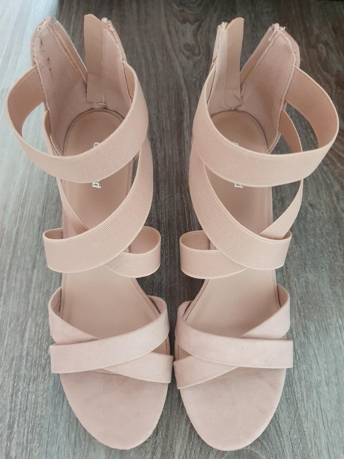 Ružové sandalky - Obrázok č. 2
