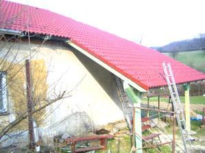 A přibyla nová terasa