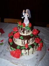 hlavní svatební dort